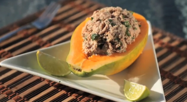 ATÚN CON PAPAYA